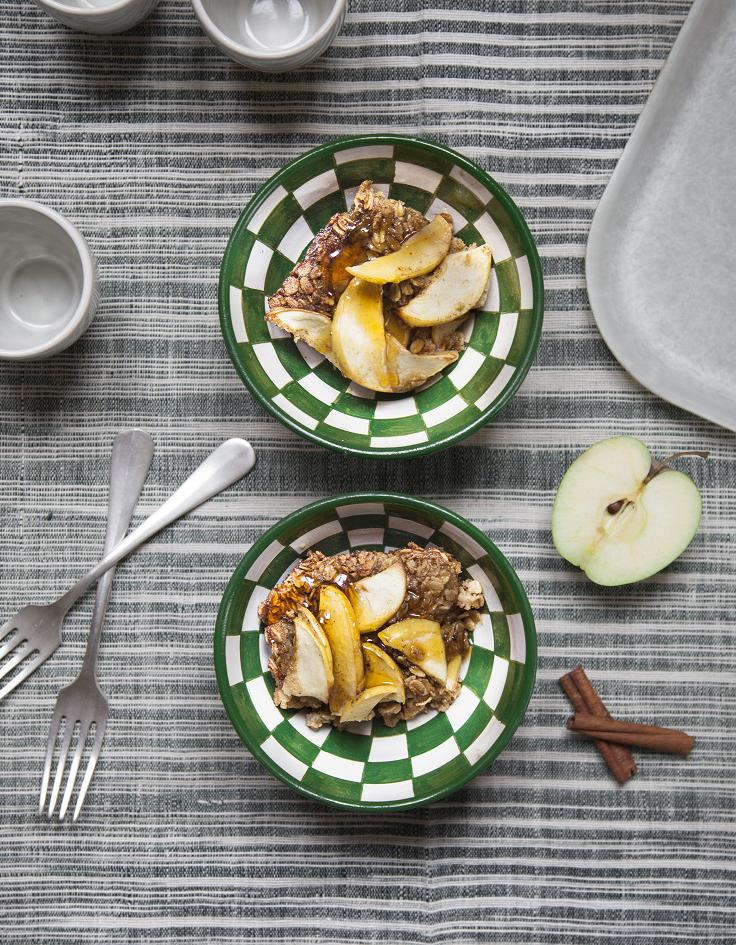 G teau d avoine aux pommes pour 6 personnes recettes for Ambiance cuisine avoine