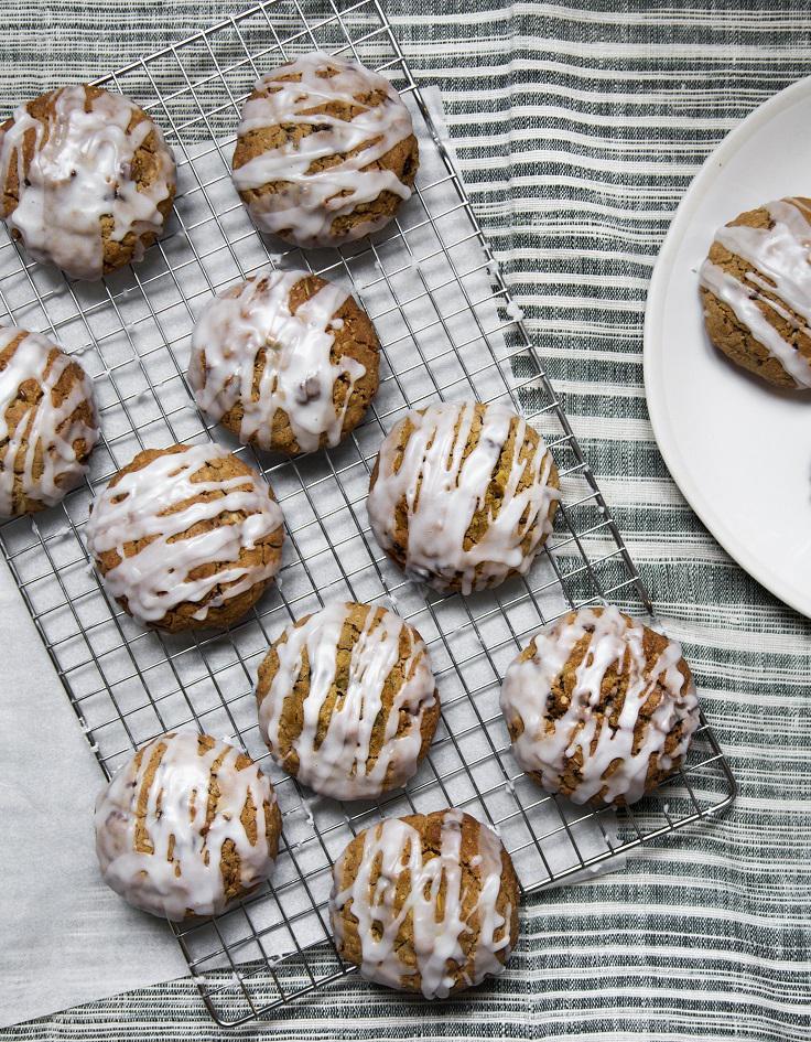 granola cookies aux flocons d 39 avoine noix et graines pour. Black Bedroom Furniture Sets. Home Design Ideas