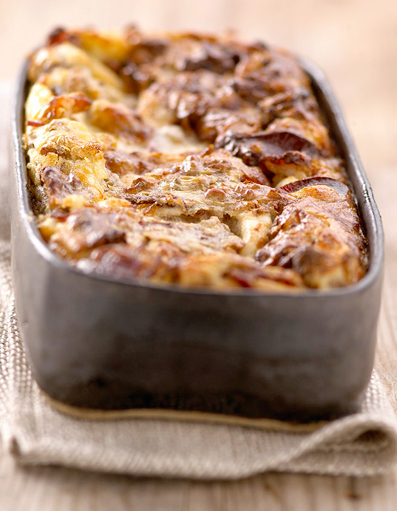 gratin de pur e au jambon recettes elle table. Black Bedroom Furniture Sets. Home Design Ideas