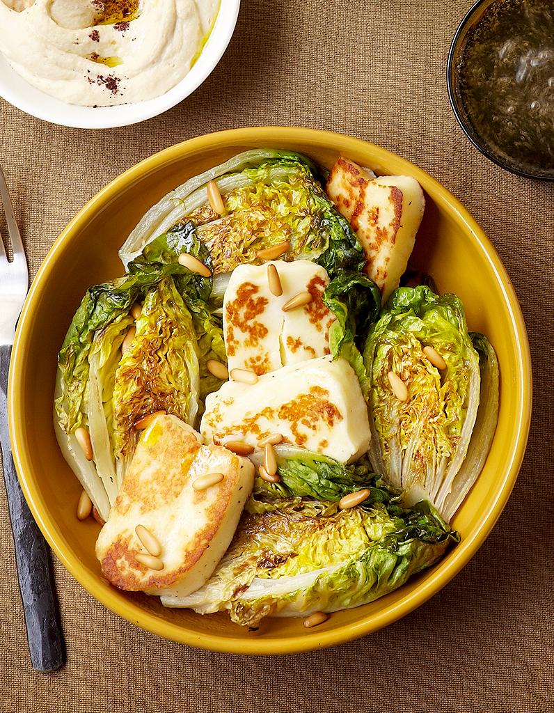 Halloumi et salade grill s pour 4 personnes recettes - Recette de cuisine originale et inventive ...