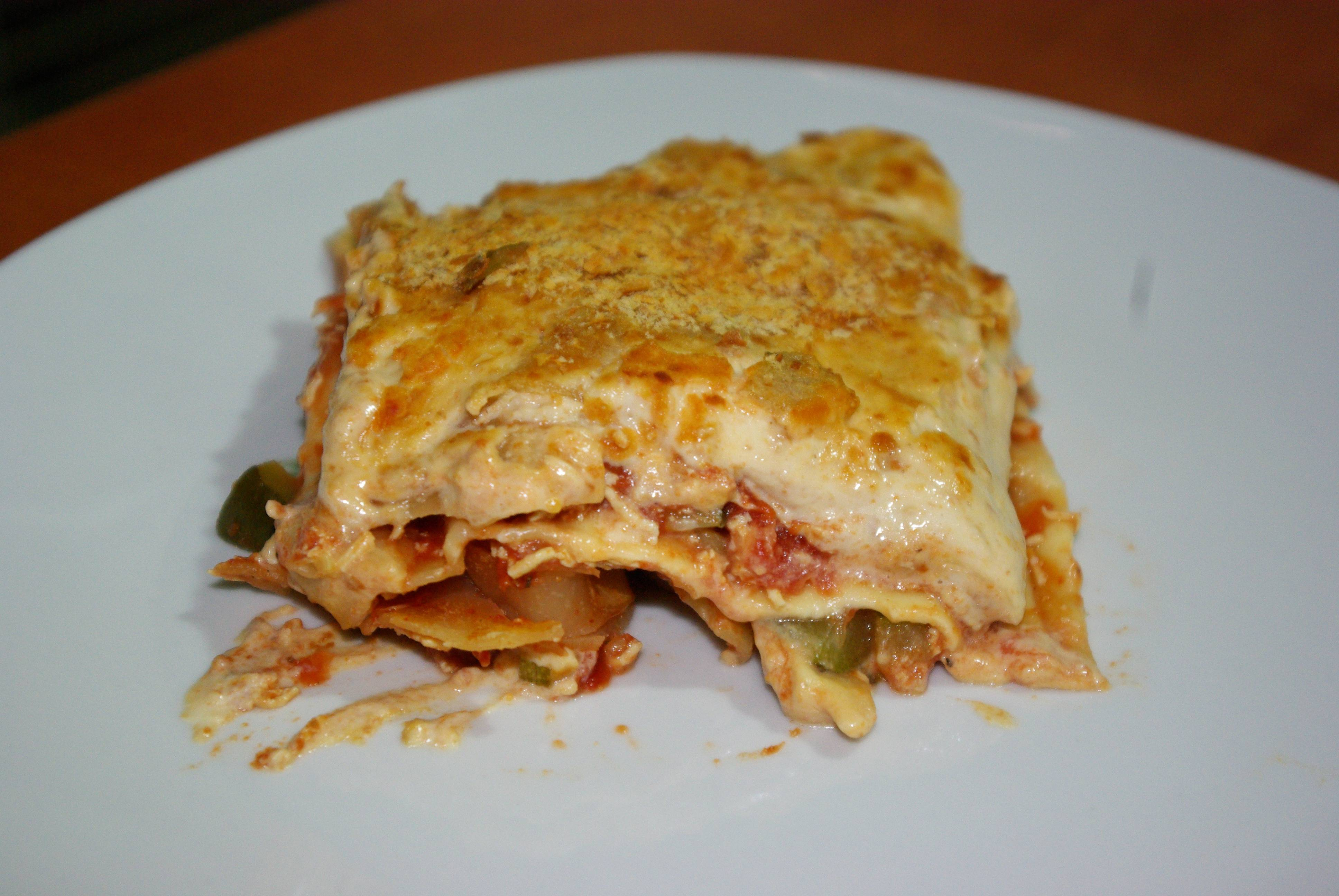 Lasagnes v g tarienne aux courgettes pour 3 personnes recettes elle table - Recette cuisine vegetarienne ...