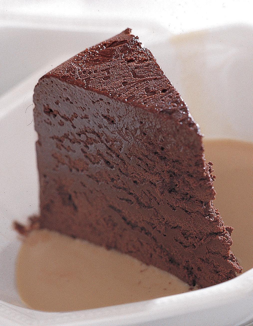 marquise au chocolat cr me anglaise au caf pour 6. Black Bedroom Furniture Sets. Home Design Ideas
