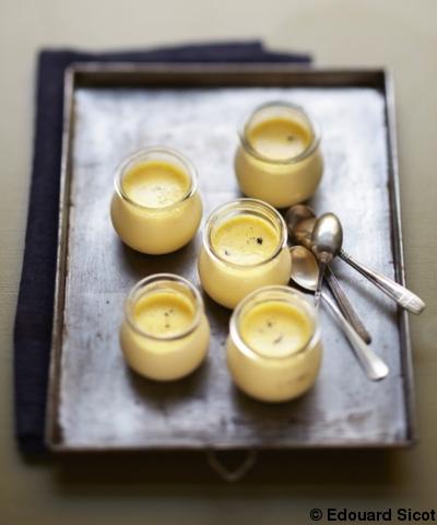 Petits pots de cr me la vanille pour 4 personnes recettes elle table - La cuisine des petits ...