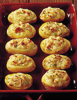 Pommes de terre farcies au mascarpone pour 4 personnes - Cuisine au mascarpone ...