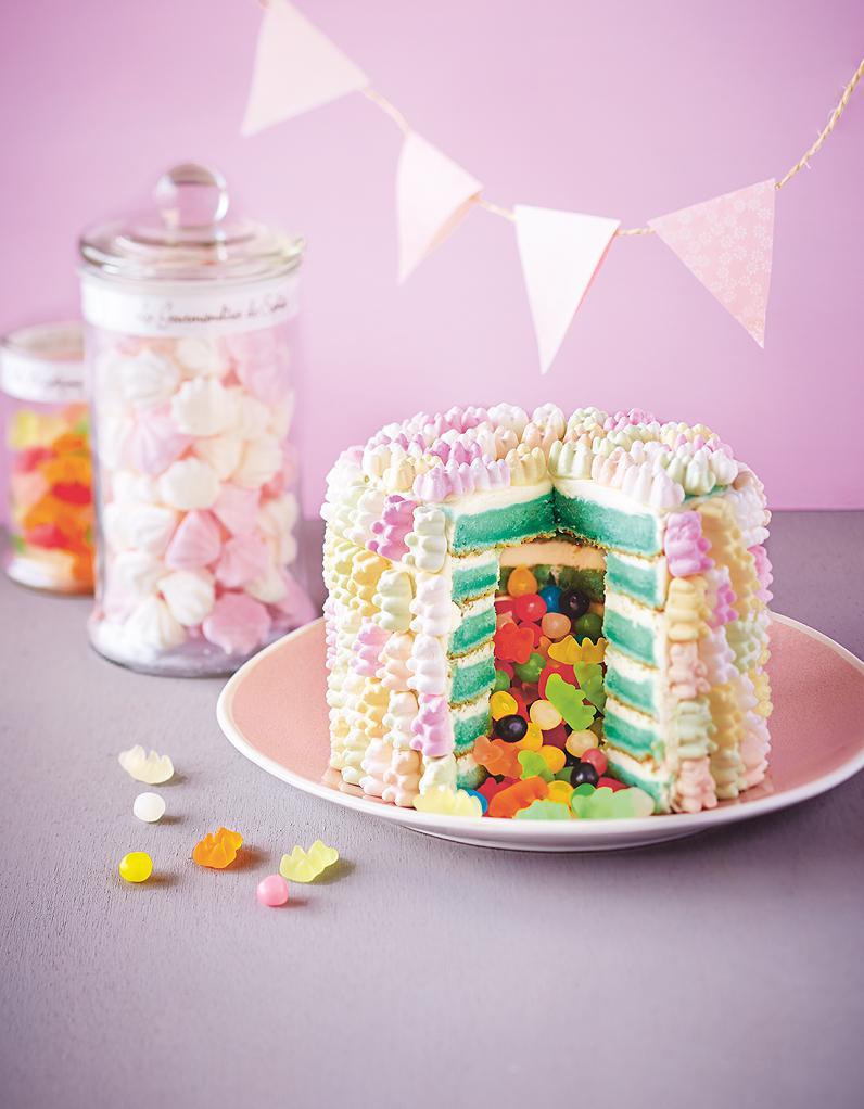 Pinata Cake Pour 6 Personnes Recettes Elle Table