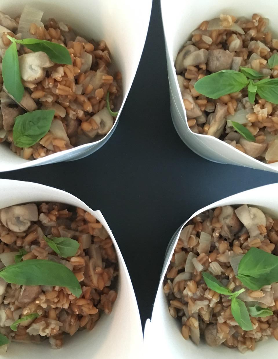 Risotto d peautre et champignons pour 1 personne recettes elle table - Site de recettes cuisine ...