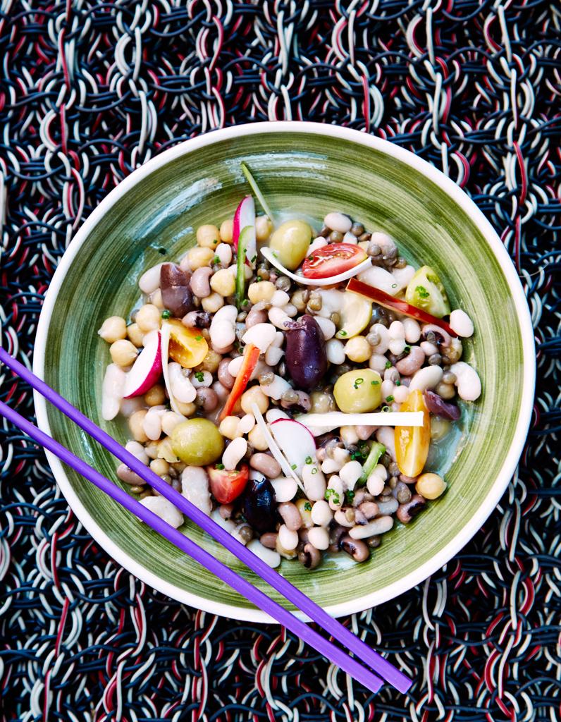 Salade de l gumes secs mulsion de jus de cuisson pour 4 - Cuisson des pleurotes recette de cuisine ...