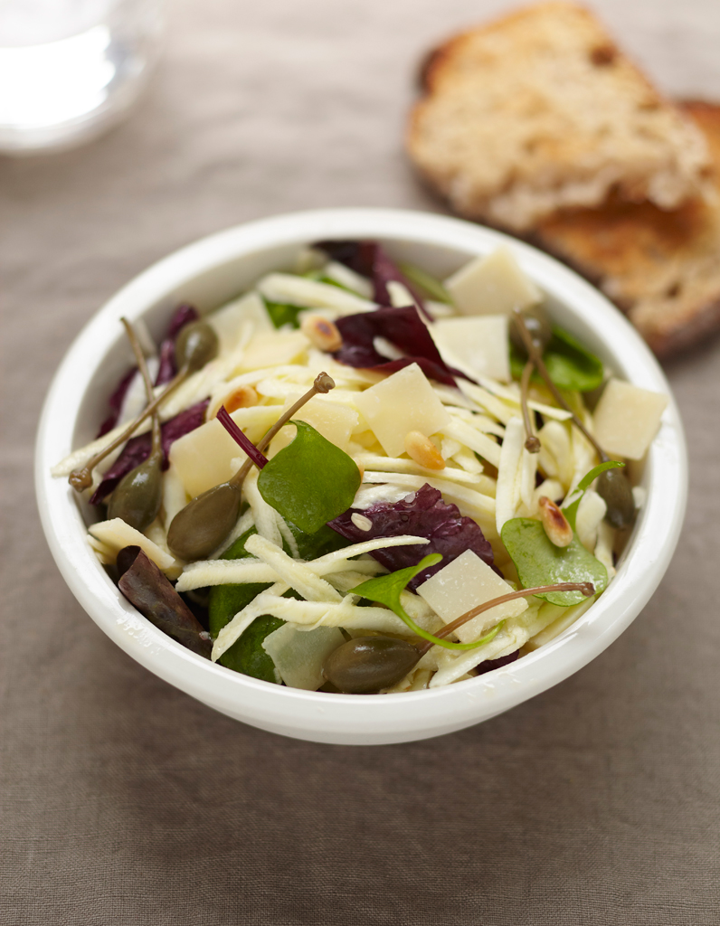 Salade de panais cru pour 4 personnes recettes elle table - Site de recettes cuisine ...