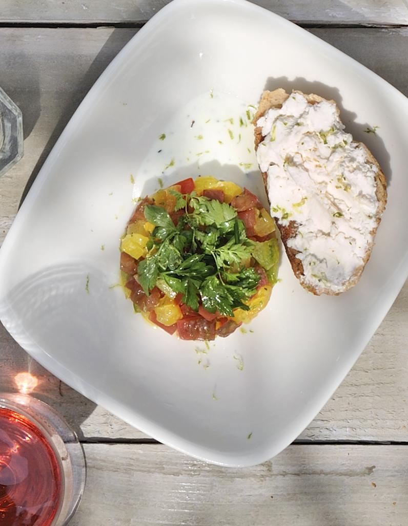 Salade grecque par arnaud carton de grammont pour 4 for Cuisine grecque