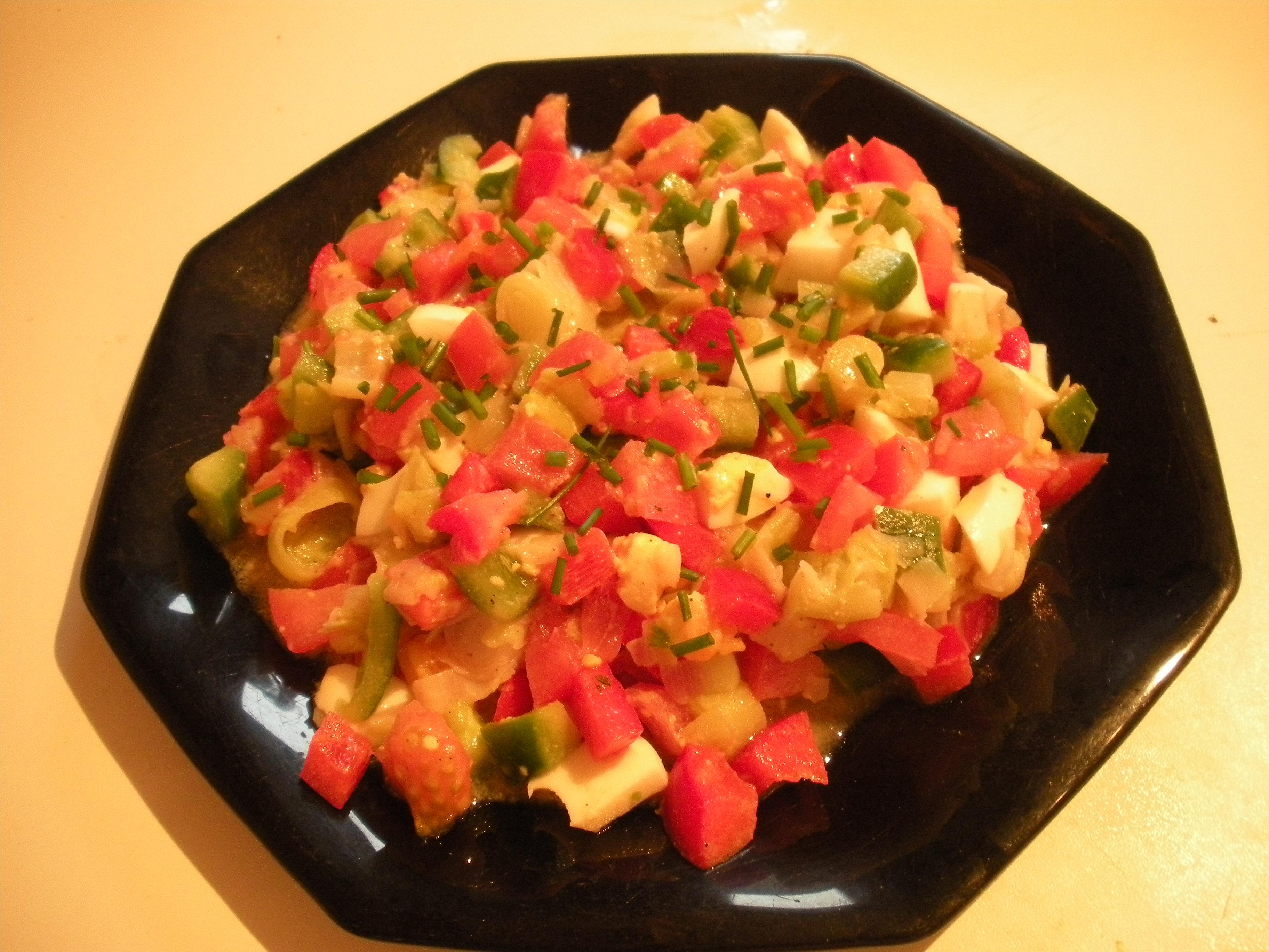 Salade picarde pour 4 personnes recettes elle table - Fr3 fr recettes de cuisine ...