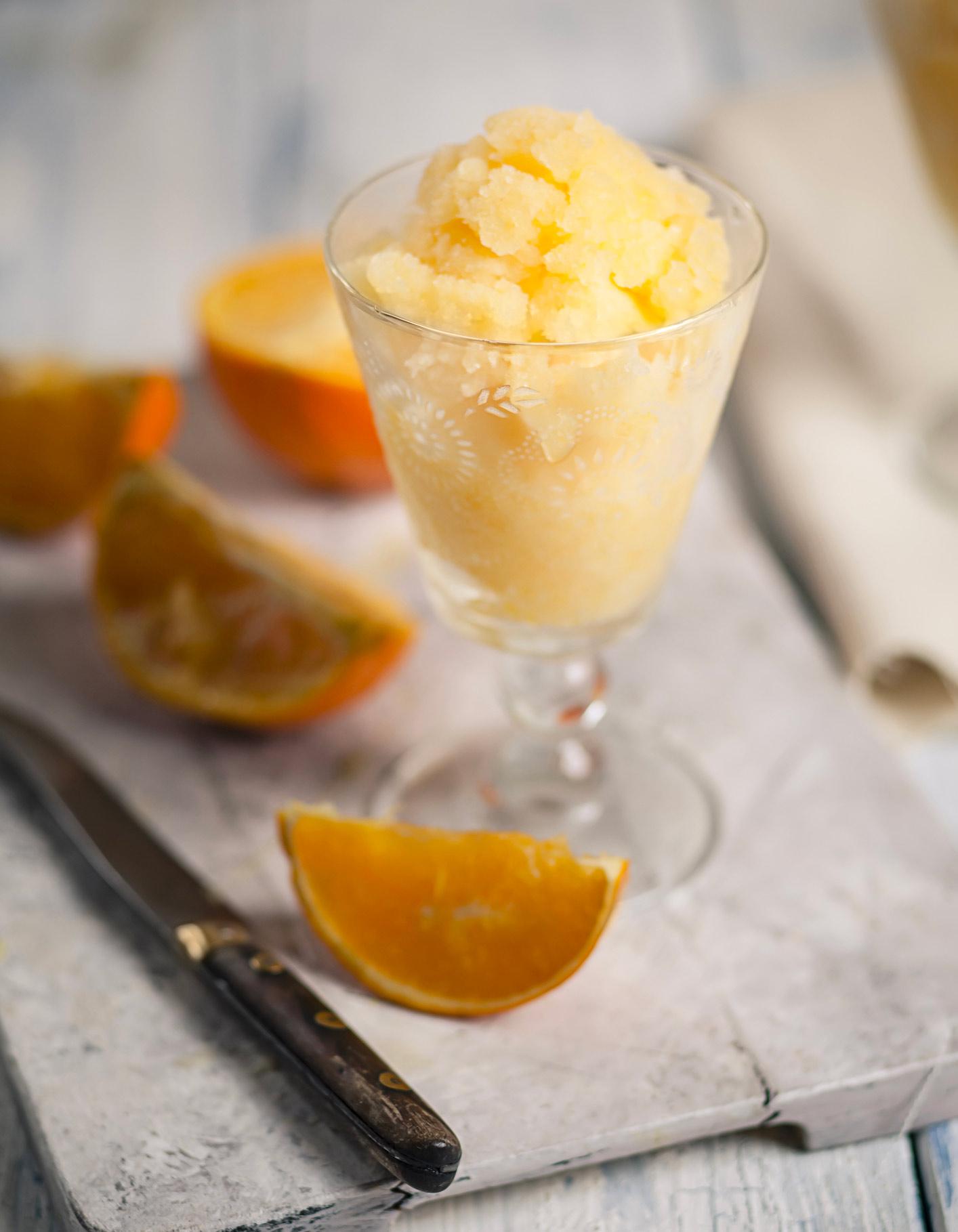 Sorbet mandarine pour 8 personnes recettes elle table - Recettes de cuisine telematin ...