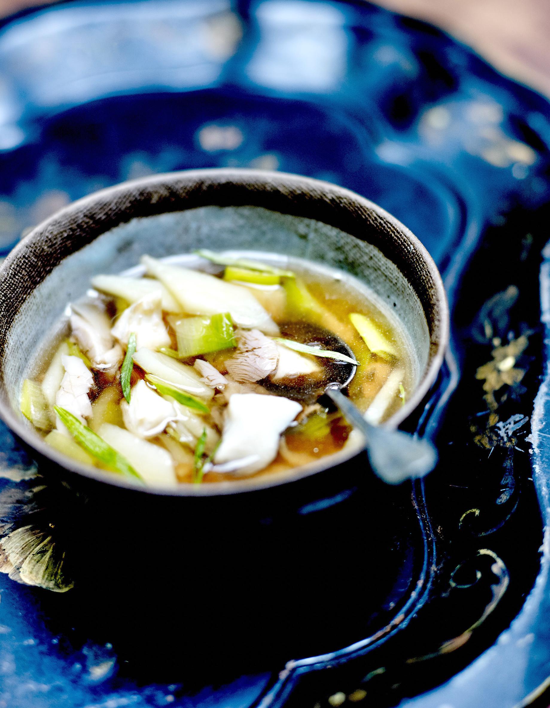 Soupe parisienne au th et poisson miett pour 4 for Stage de cuisine paris