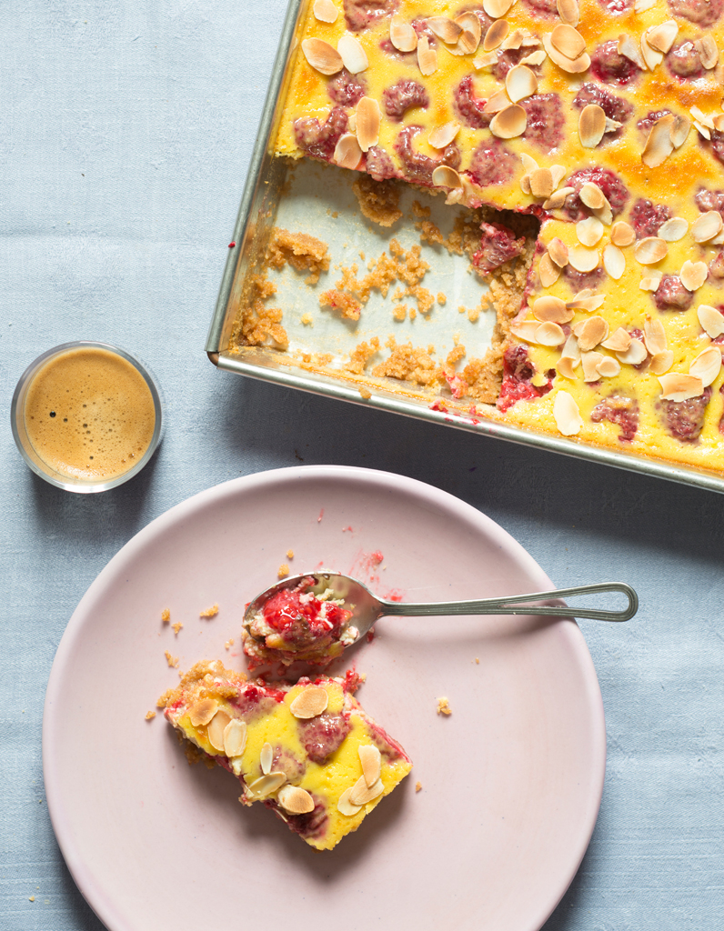 Tarte fa on cheesecake aux framboises pour 6 personnes recettes elle table - Site de recettes cuisine ...