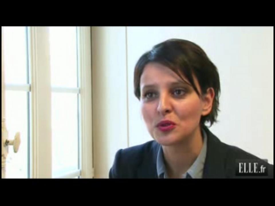 Rencontre avec najat belkacem porte parole de hollande for Porte parole