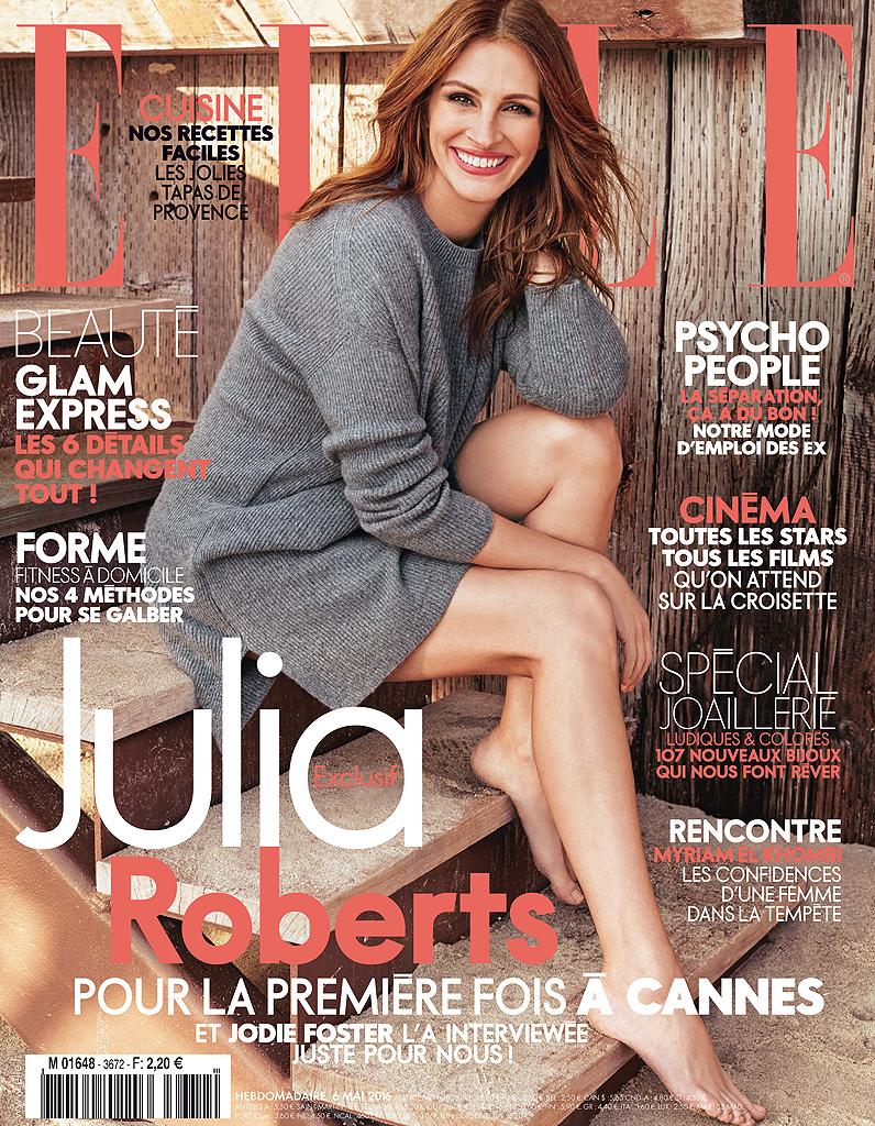 Julia Roberts En Couverture De Elle Cette Semaine Elle