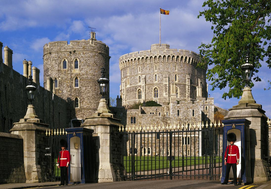 Castle Plans Le Ch 226 Teau De Windsor En Angleterre 20 Ch 226 Teaux 224