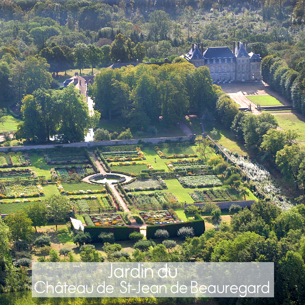 jardins du ch teau saint jean de beauregard o sont les plus beaux jardins de france elle. Black Bedroom Furniture Sets. Home Design Ideas