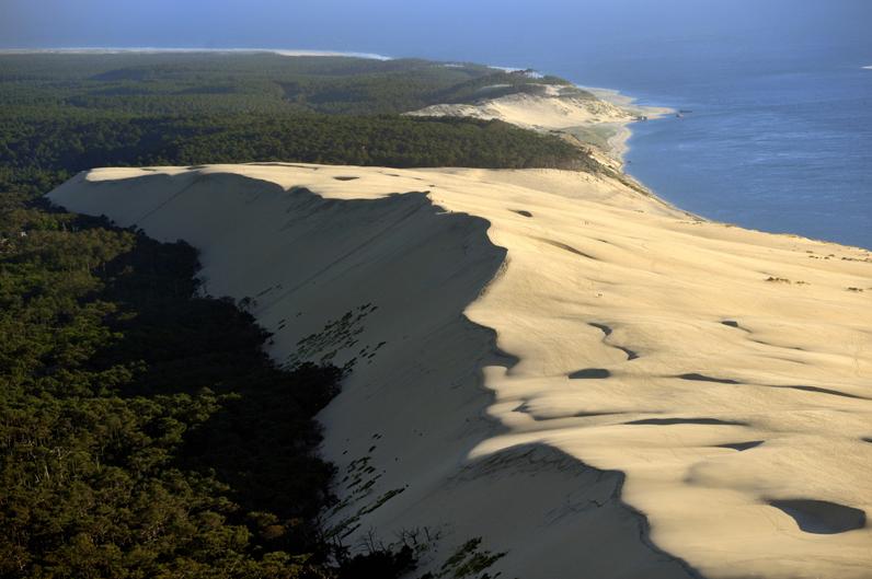 La dune du pilat gironde les 15 plus beaux coins du sud de la france elle - Restaurant dune du pilat ...