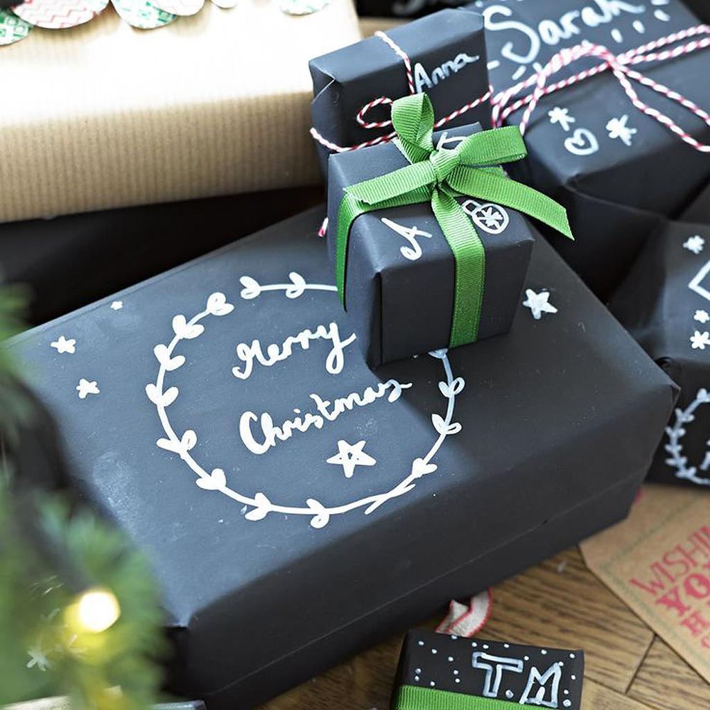 Emballage cadeau no l 25 id es d emballages cadeau qui font de l 39 effet elle - Idee emballage cadeau drole ...