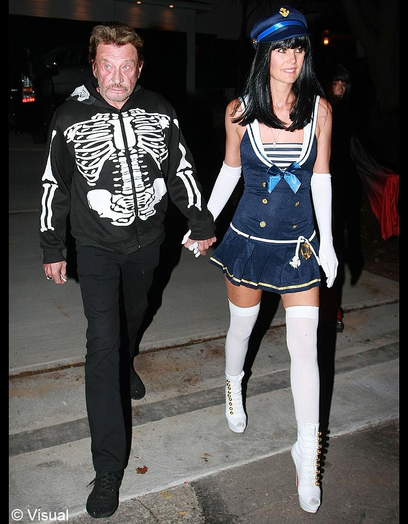 Halloween johnny hallyday une vie en photos elle - Toutes les maisons de johnny hallyday ...