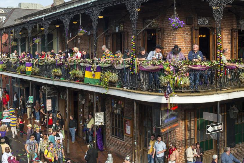 A la Nouvelle Orleans aux Etats Unis