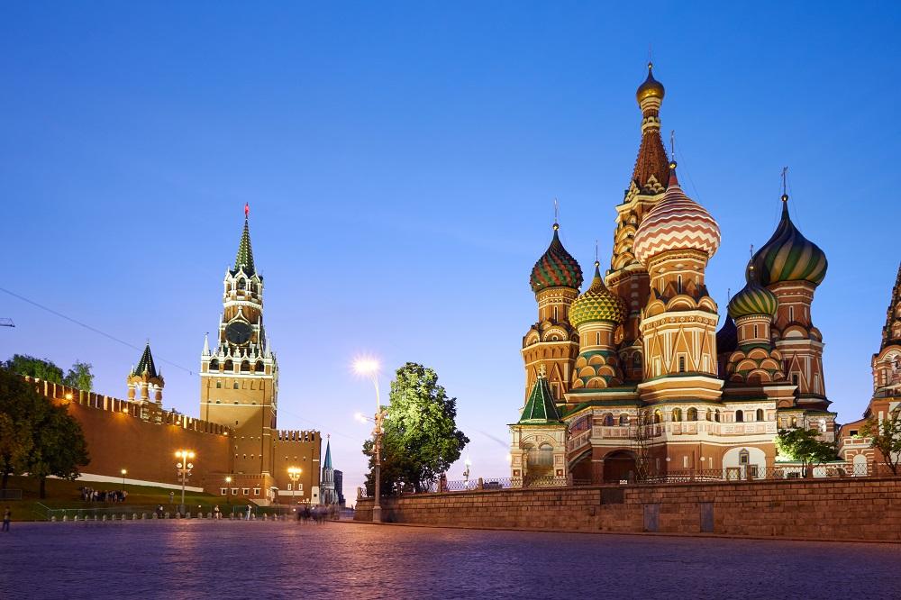 Le monde en vue russe