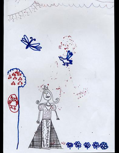 Capucine 7 ans que r v lent les dessins de nos enfants - Dessin de psy ...