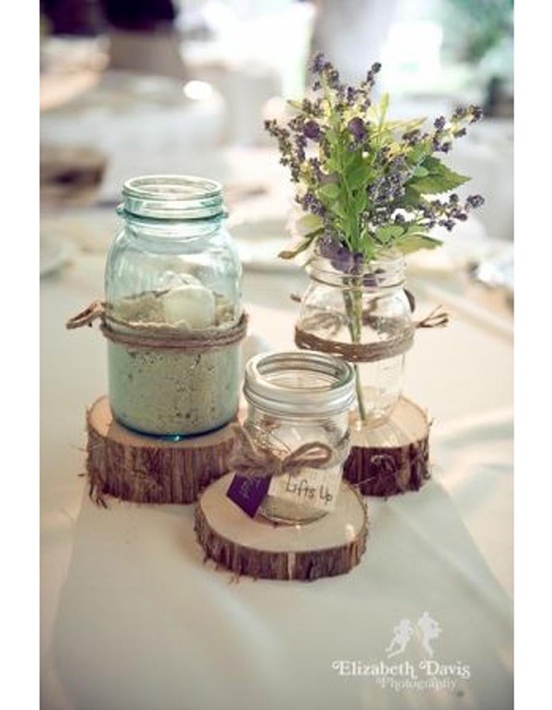 centre de table sable centre de table nos 20 jolies id es pour un mariage r ussi elle. Black Bedroom Furniture Sets. Home Design Ideas