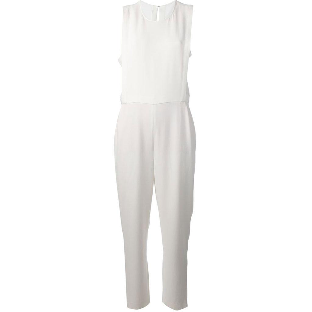 combinaison blanche theory 30 combinaisons blanches pour moderniser la robe de mari e elle. Black Bedroom Furniture Sets. Home Design Ideas