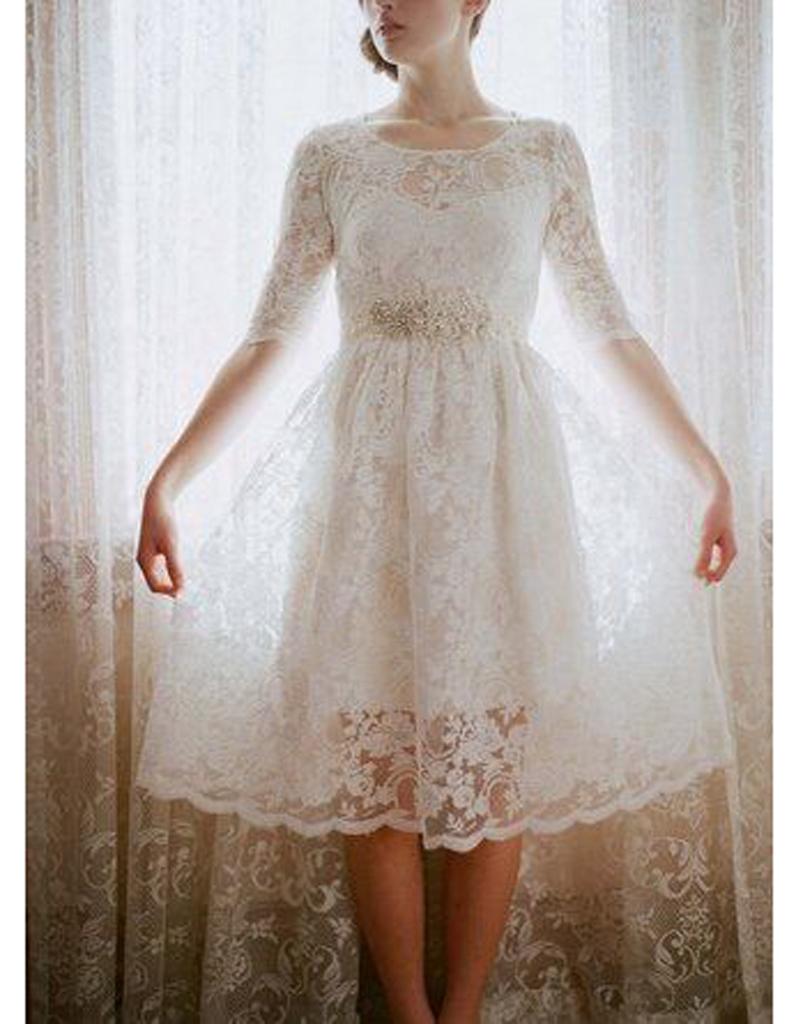 Robe de mariée rétro courte - 20 robes de mariée rétro pour avoir ...
