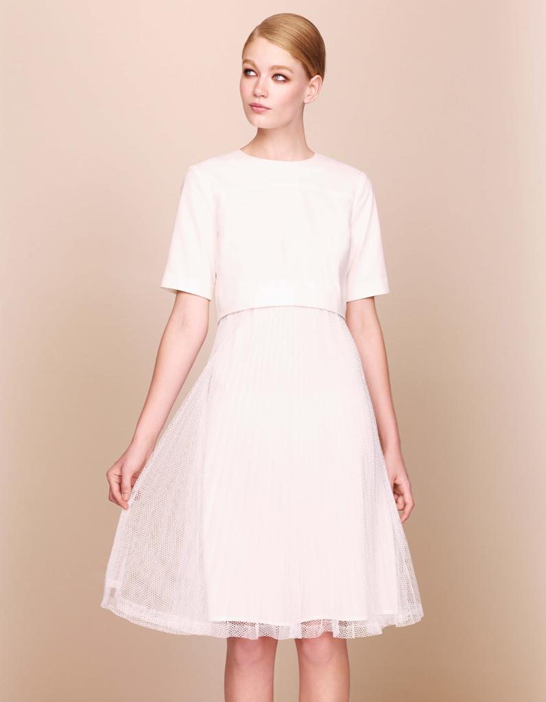 Robe en tissu ajour asos 50 robes de mari e qui for Mariage de robe marine asos