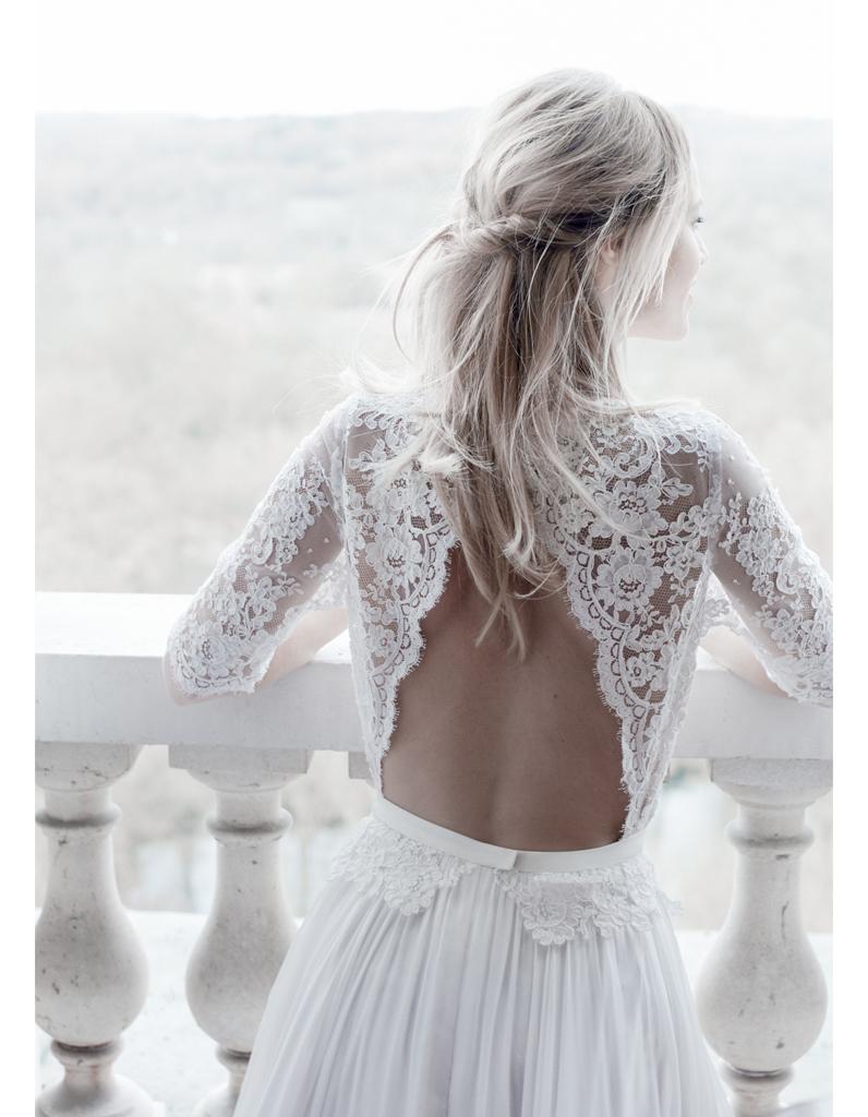 Robe de mariee hippie chic pas cher