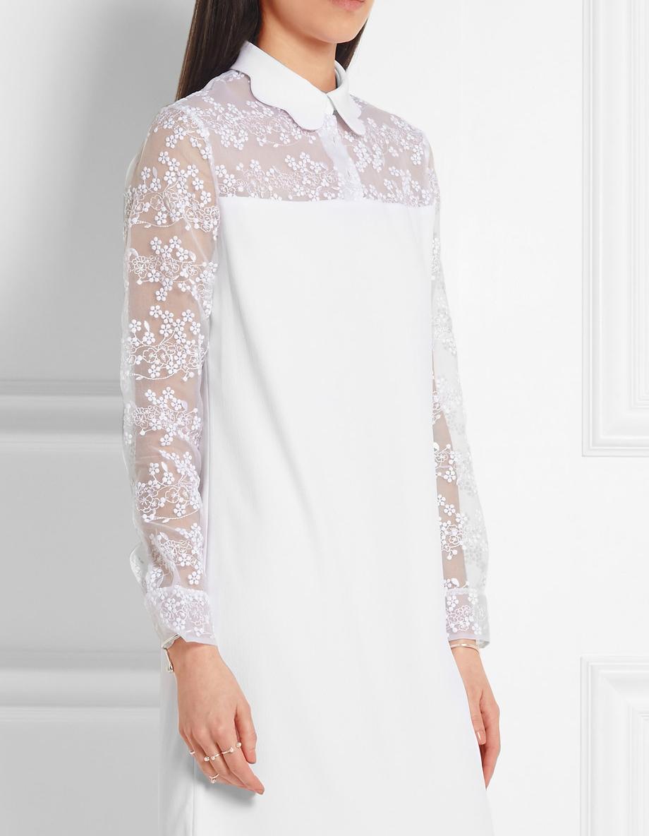 Robe de mariée courte blanche Carven - Les plus belles robes de ...