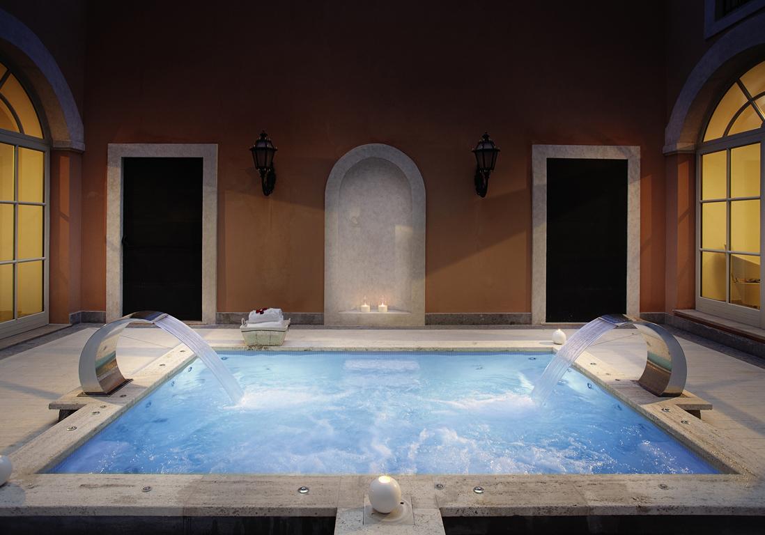 ellebeautyspot le spa my blend by clarins de la villa agrippina rome elle. Black Bedroom Furniture Sets. Home Design Ideas
