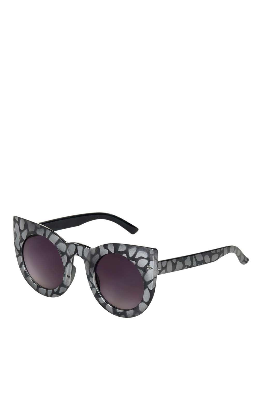 lunettes de soleil femme t topshop grise 45 lunettes. Black Bedroom Furniture Sets. Home Design Ideas