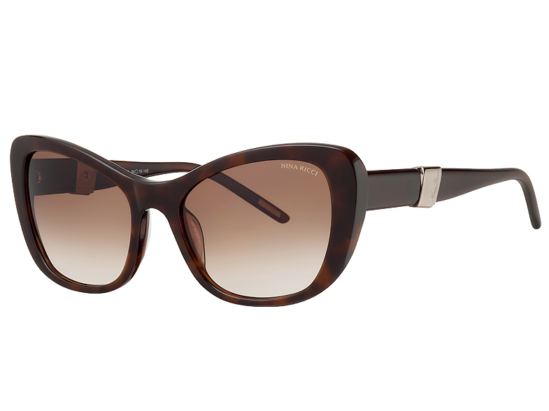 mode tendance guide shopping lunettes visage ovale cat eye nina ricci lunettes de soleil. Black Bedroom Furniture Sets. Home Design Ideas