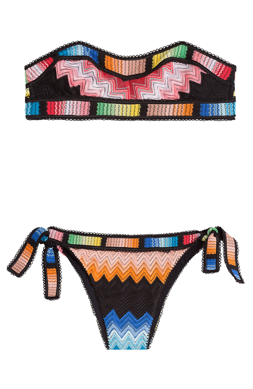 maillot de bain bandeau color missoni mare 25 maillots de bain bandeau pour chiller la. Black Bedroom Furniture Sets. Home Design Ideas