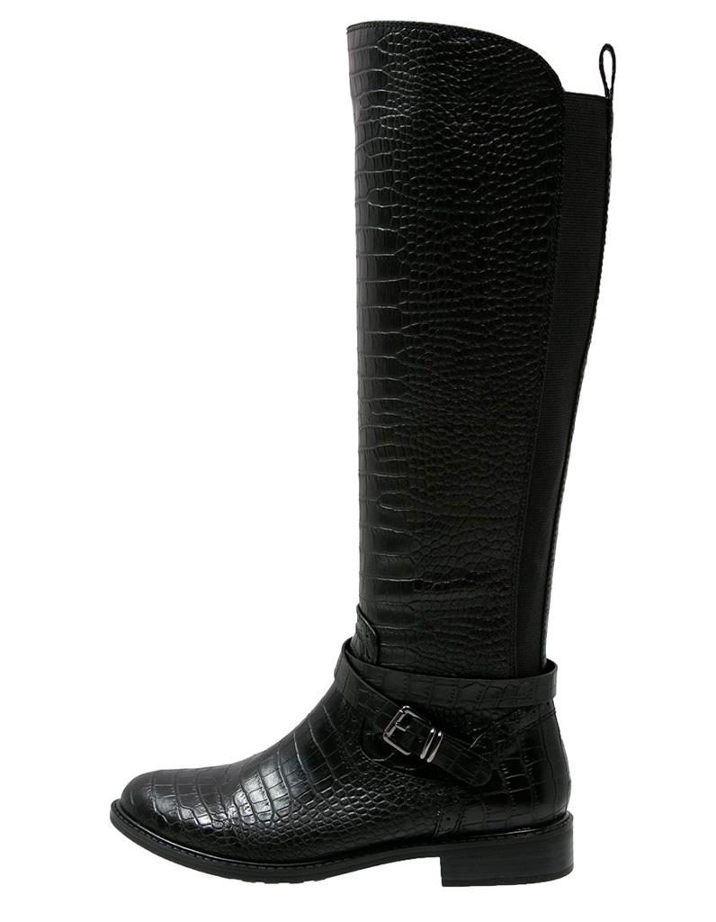 bottes cavali res en cuir noir anna field nos 20 plus belles paires de bottes cavali res elle. Black Bedroom Furniture Sets. Home Design Ideas