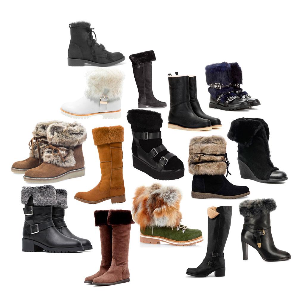 bottes fourrées 2016 : 20 bottes fourrées pour avoir chaud aux