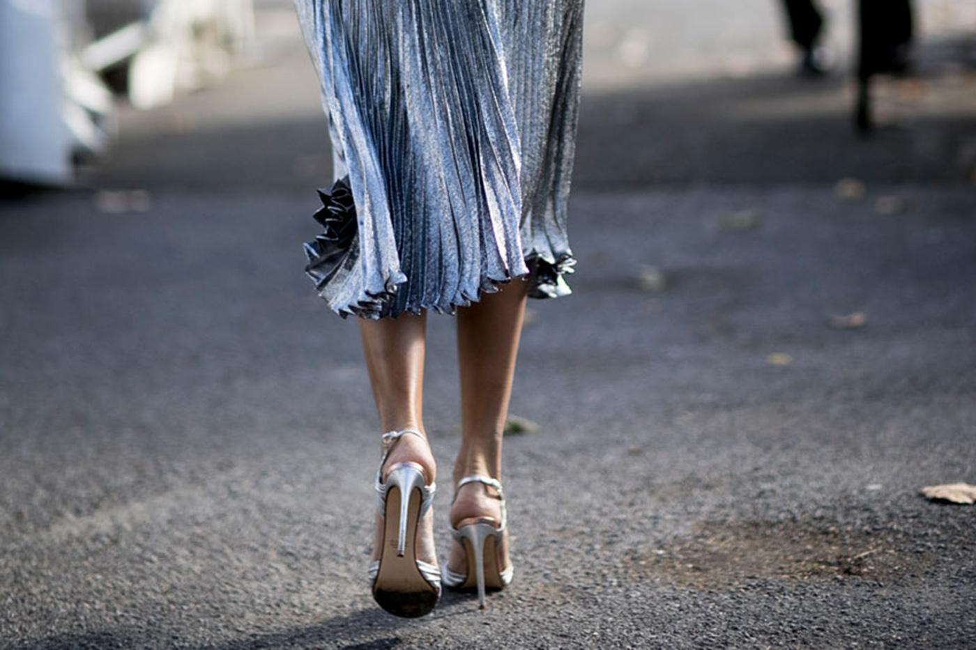Les plus belles chaussures rep r es la fashion week elle for Les portent claquent