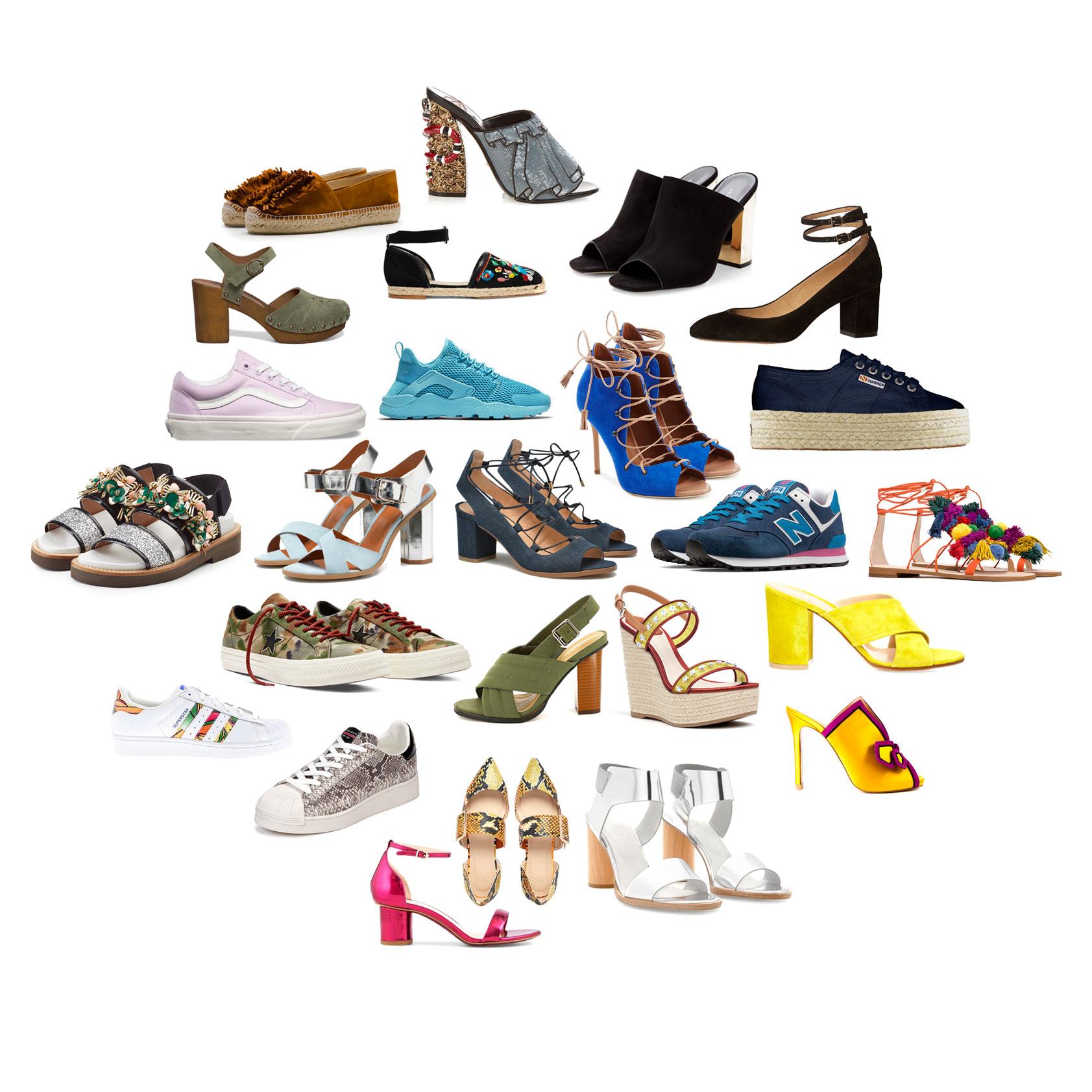 chaussures printemps t 2016 d couvrez les plus belles. Black Bedroom Furniture Sets. Home Design Ideas