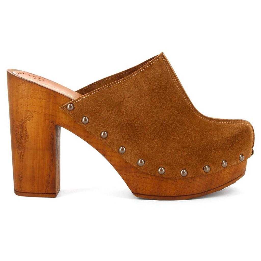 chaussures sabot bois # Sabot En Bois Et Cuir
