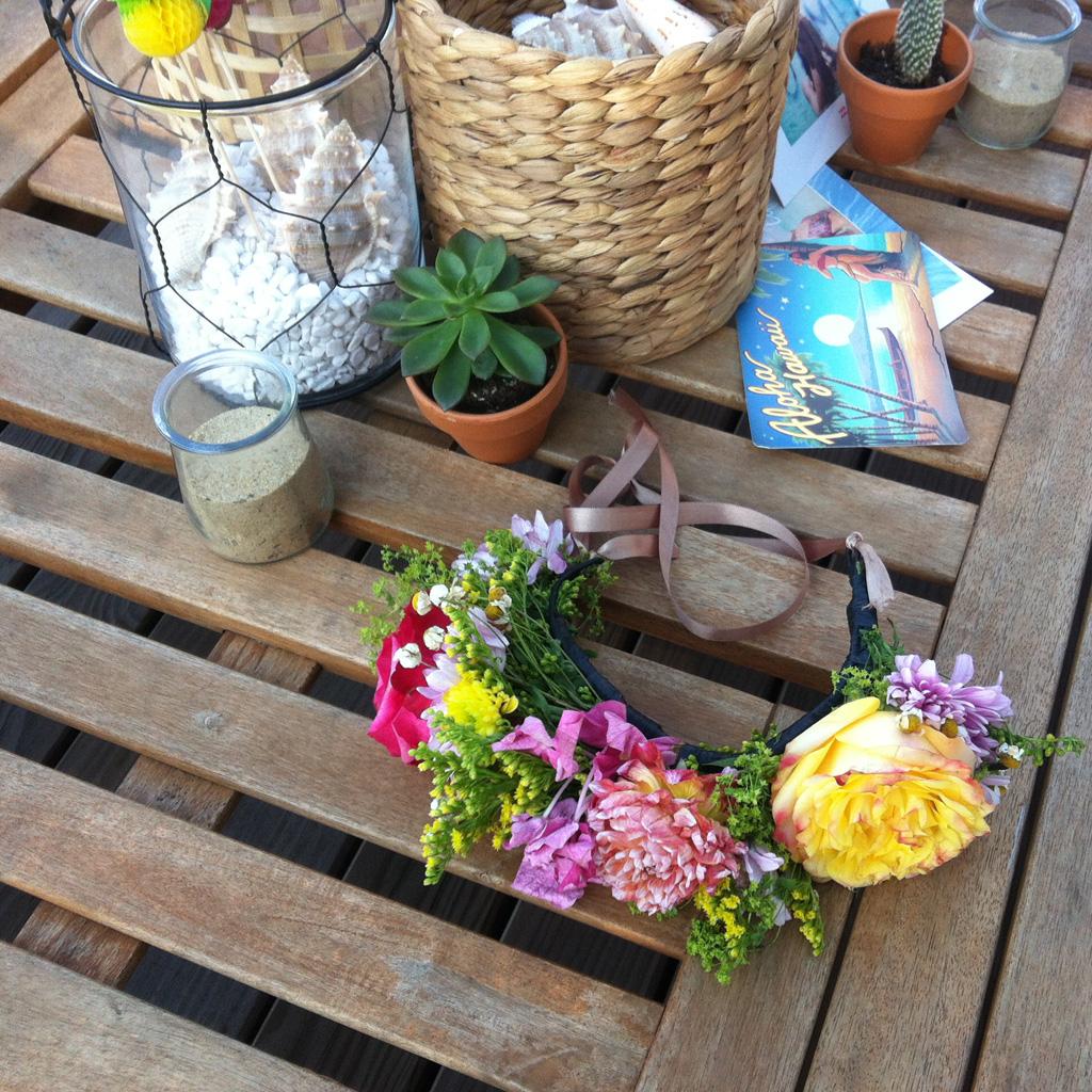 Diy couronne de fleurs comment faire une couronne de for Couronne de fleurs