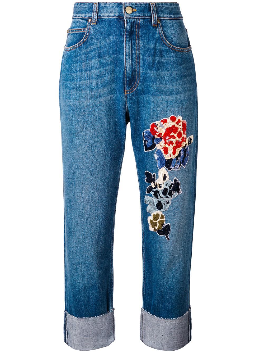 jean brod sequins sonia rykiel 25 jeans brod s qui nous font de l il elle. Black Bedroom Furniture Sets. Home Design Ideas