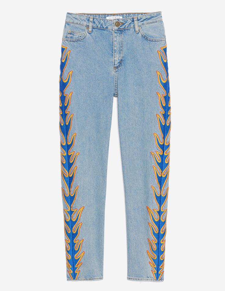 jean brod enflamm sandro 25 jeans brod s qui nous font de l il elle. Black Bedroom Furniture Sets. Home Design Ideas