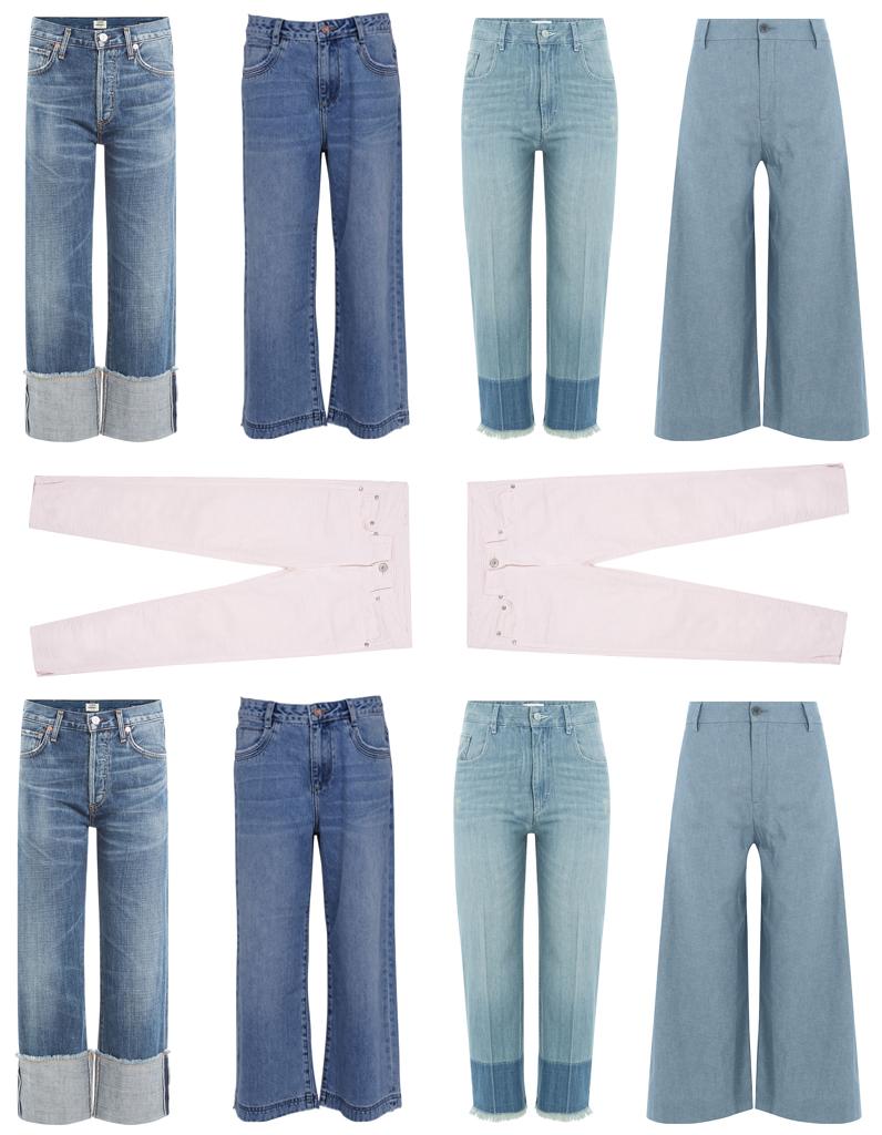 pantacourt jean femme d couvrez notre s lection de pantacourt en jean pour femmes elle. Black Bedroom Furniture Sets. Home Design Ideas