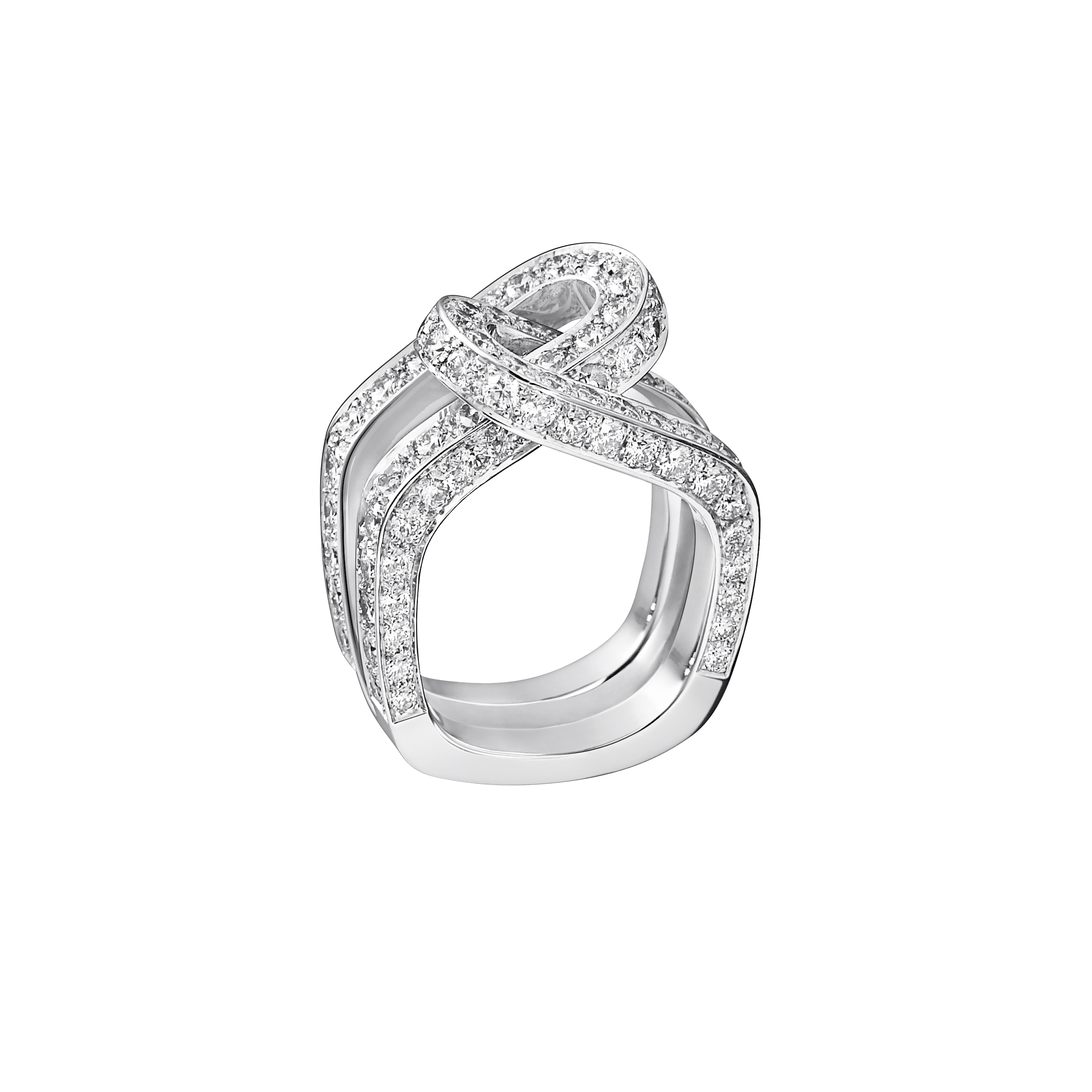 Top Bague diamant et or blanc Dinh Van - 10 bagues en diamant qui en  WH32