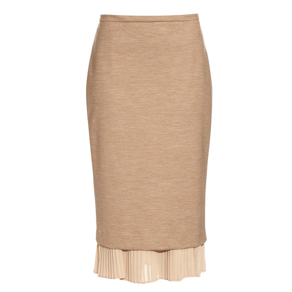 jupe taille haute beige 23 jupes taille haute pour un. Black Bedroom Furniture Sets. Home Design Ideas