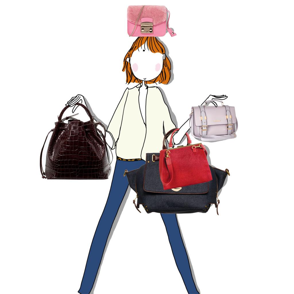 quel sac choisir d couvrez comment choisir votre sac main elle. Black Bedroom Furniture Sets. Home Design Ideas
