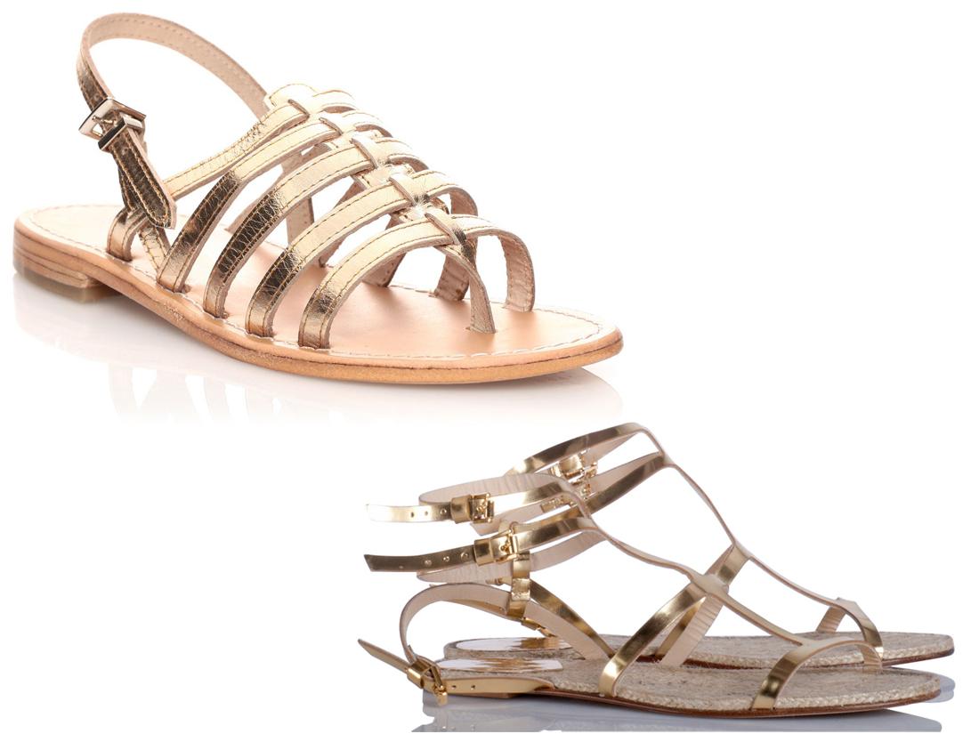 on arbore des chaussures dor u00e9es - 30 astuces mode pour mettre en valeur son bronzage